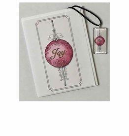 Kelly Casperson Joy pendant & card set