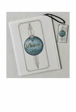 Kelly Casperson Peace pendant & card set