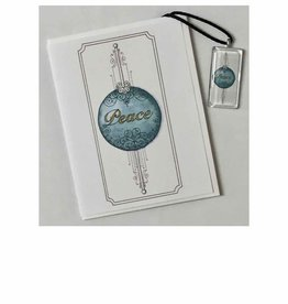 Kelly Casperson Peace pendant & card set