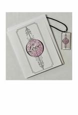 Kelly Casperson Love pendant & card set