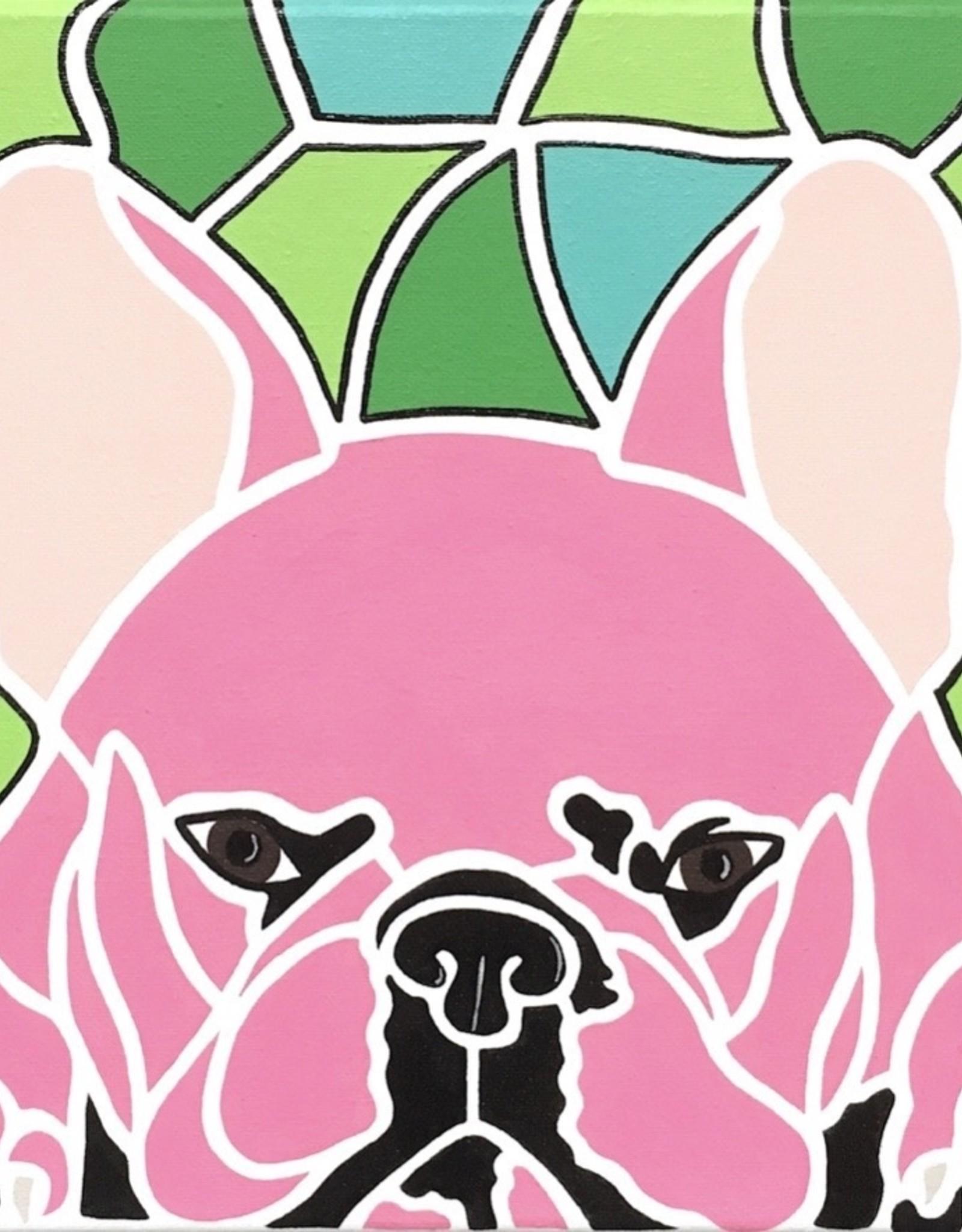 """Whitney North French Bulldog 8""""X10"""" Print"""