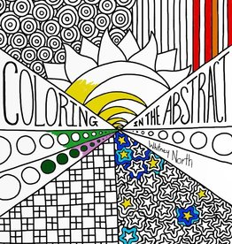 "Whitney North ""Coloring in the Abstract"" Coloring Book"