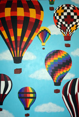 "Whitney North Hot Air Balloons 8""X10"" Print"