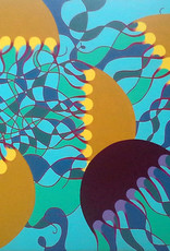 "Whitney North Jellyfish IV 8""X10"" Print"