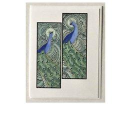 Kelly Casperson The Peacocks card