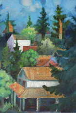 Jennifer Cook-Chrysos Chrysos Designs Artworks, Hillside, print, 16 x 20