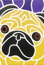 "Whitney North ""Pug"" 8""X10"" Print"