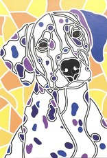 "Whitney North ""Dalmatian"" 5""X7"" Print"