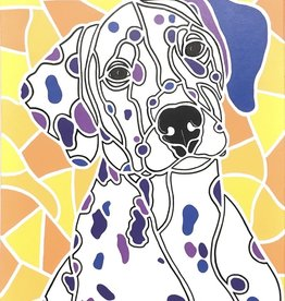 Whitney North Dalmatian Original Painting