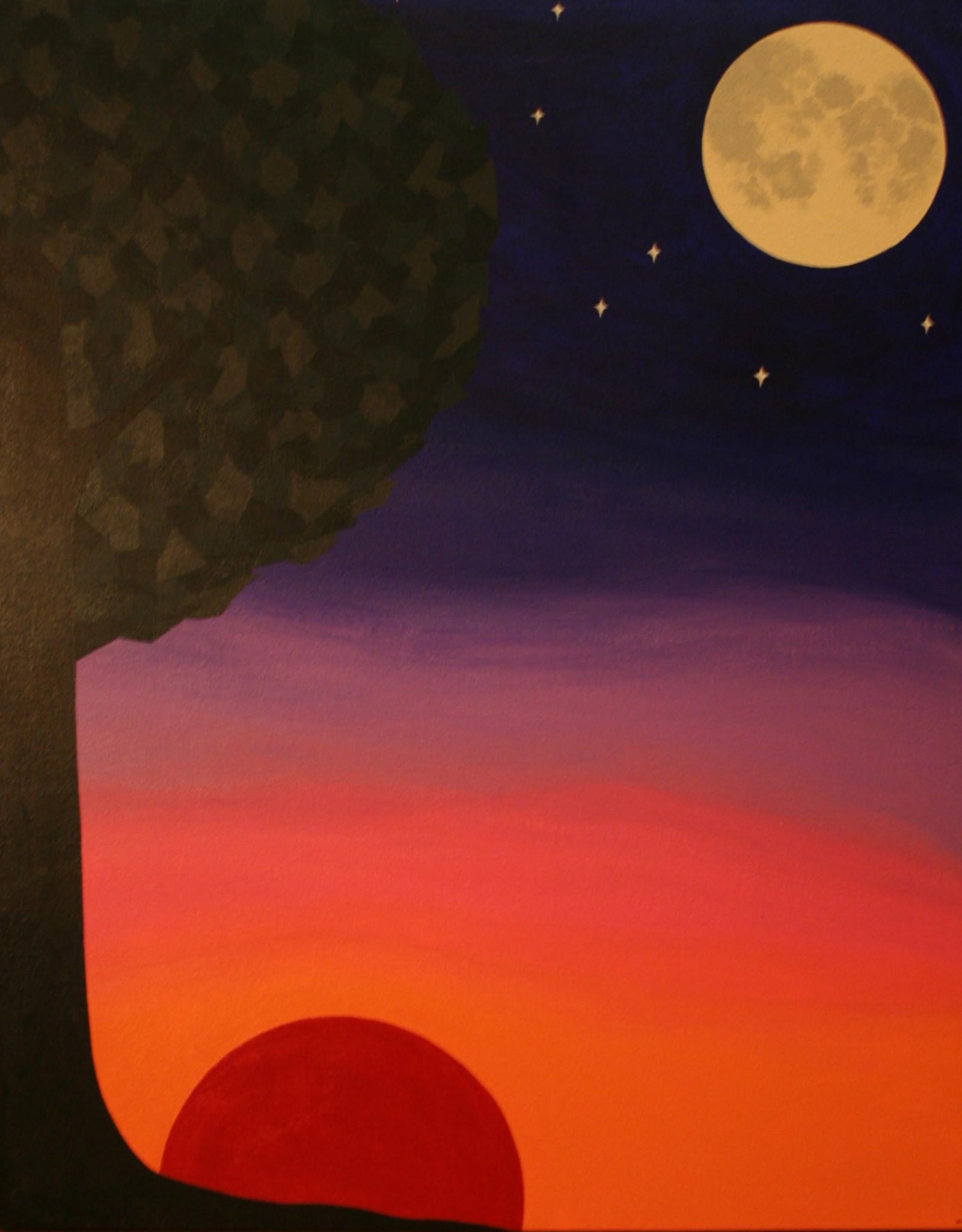 Whitney North Night's Light Original Painting