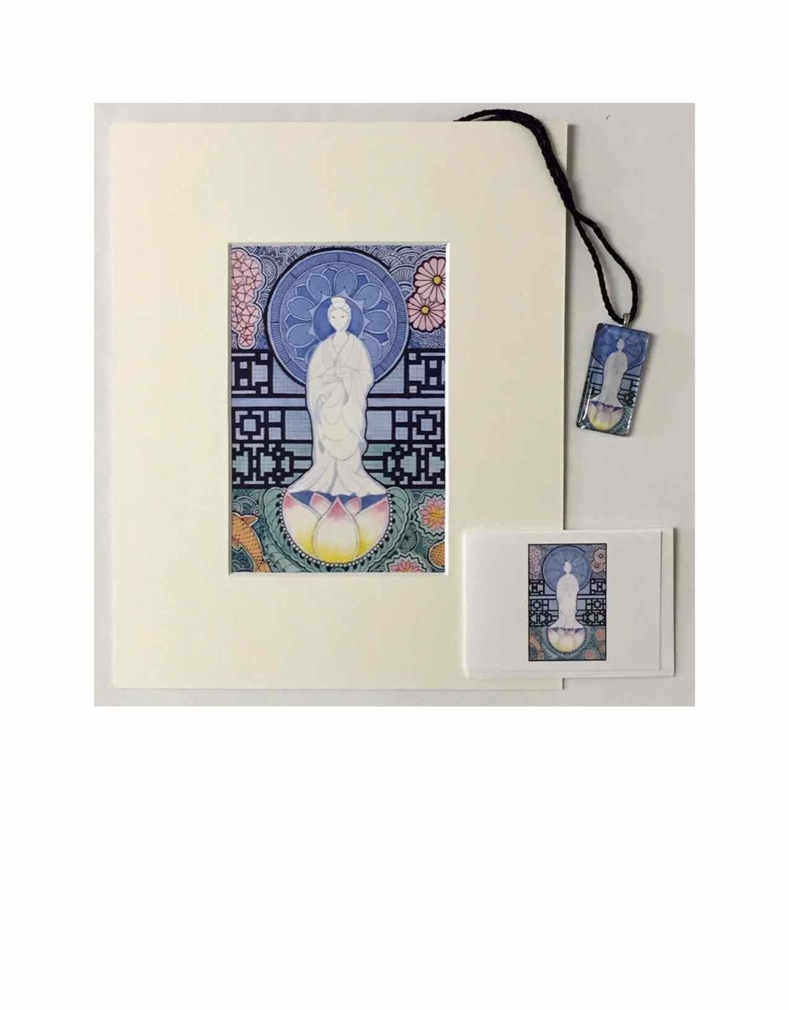 Kelly Casperson Kwan Yin gift set
