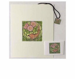 Kelly Casperson Koi with Water Lilies gift set