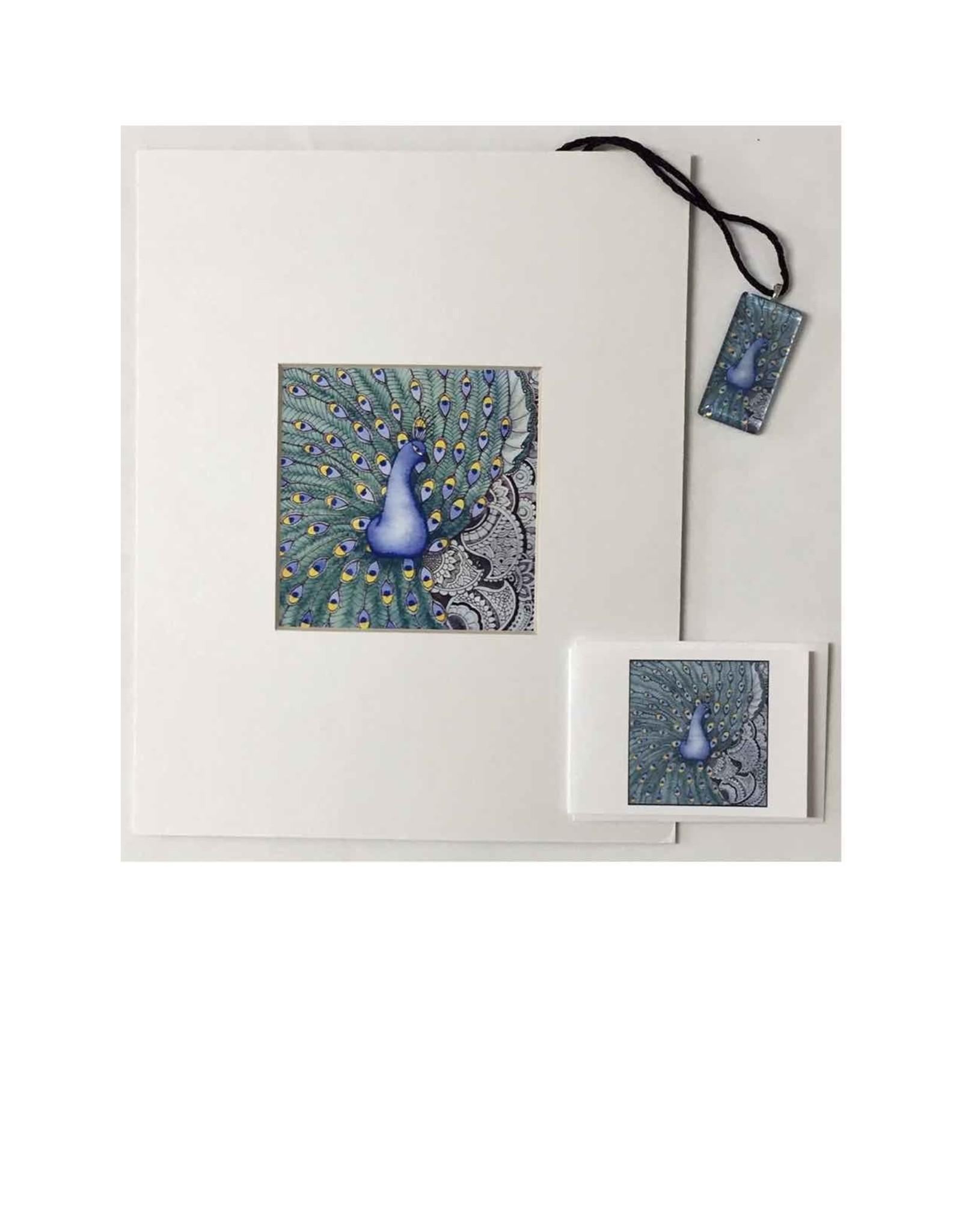 Kelly Casperson Peacock Fantasy gift set