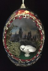 Ammi Brooks Harry Potter/Owl Real Egg Ornament