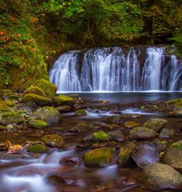 David Leonard Multnomah Creek Falls