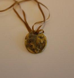 Pandora Patterson Oak Leaf Pendant