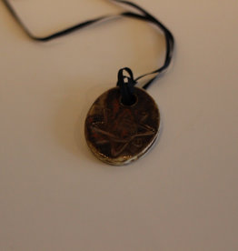 Pandora Patterson Metallic Leaf Pendant