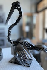 Josh Daily Josh Daily Art/ Dapper Pelican/ Metal Sculpture