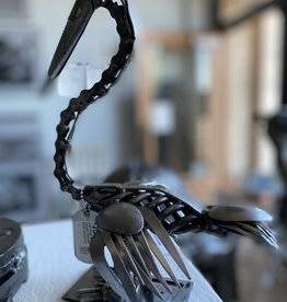 Josh Daily Josh Daily Art/ Dapper Pelican/ Metal Sculpture