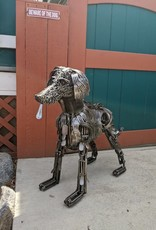 Josh Daily JoshDailyArt/Man's Best Friend/Dog/Metal Sculpture