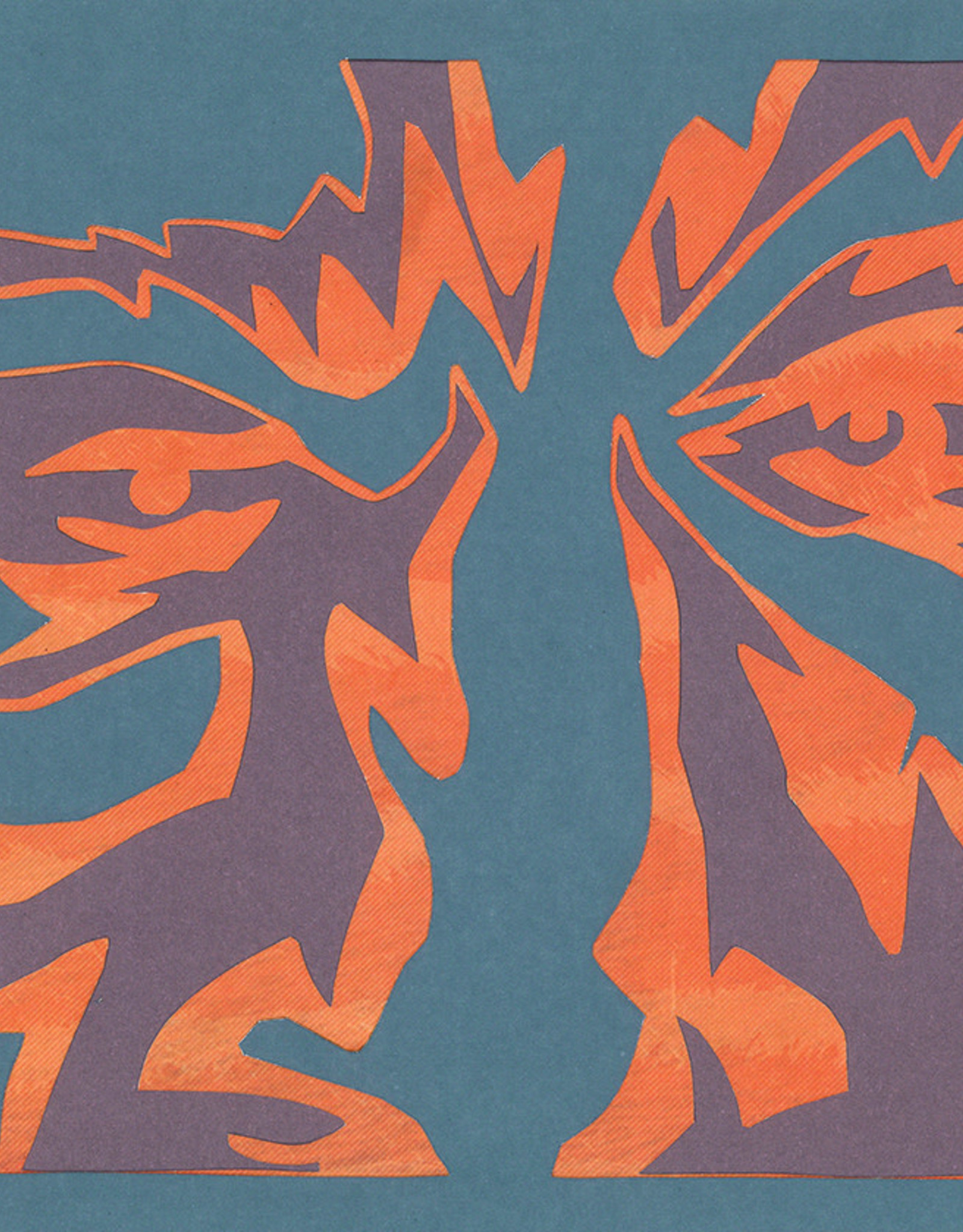 Gray Jones Face to Face -Cutout 9x12 #11