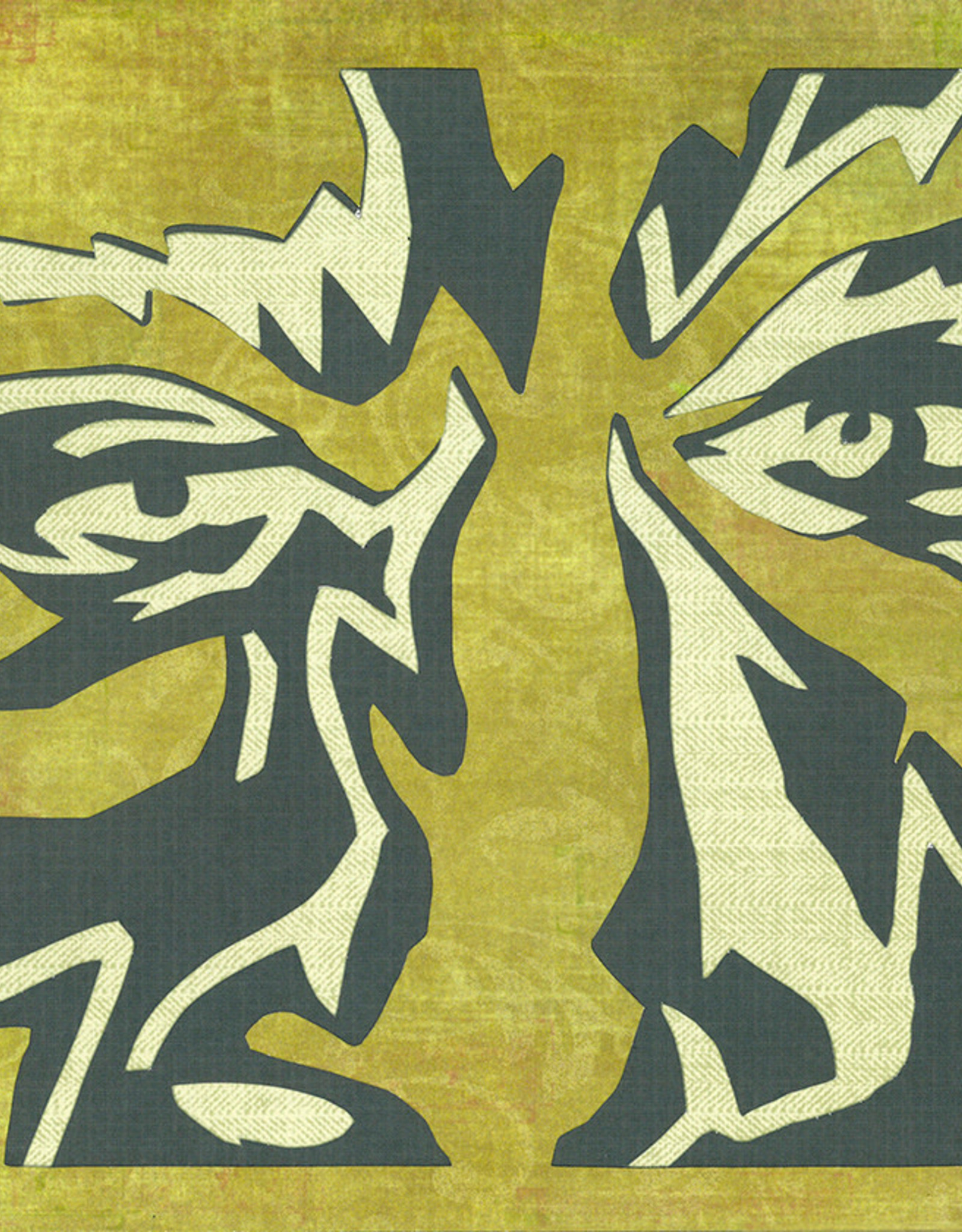 Gray Jones Face to Face -Cutout 9x12 #12