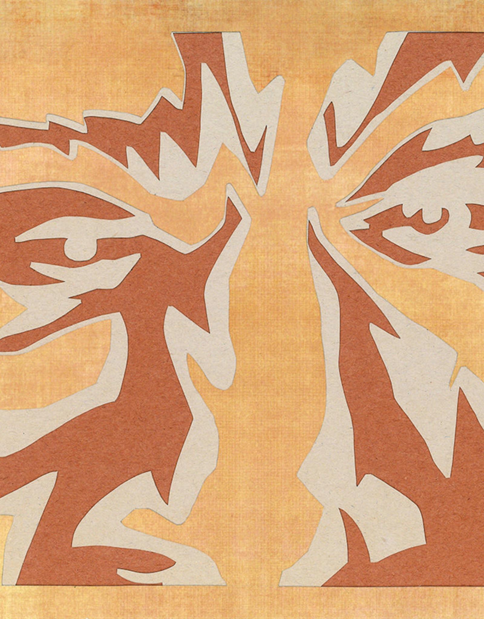 Gray Jones Face to Face -Cutout 9x12 #13