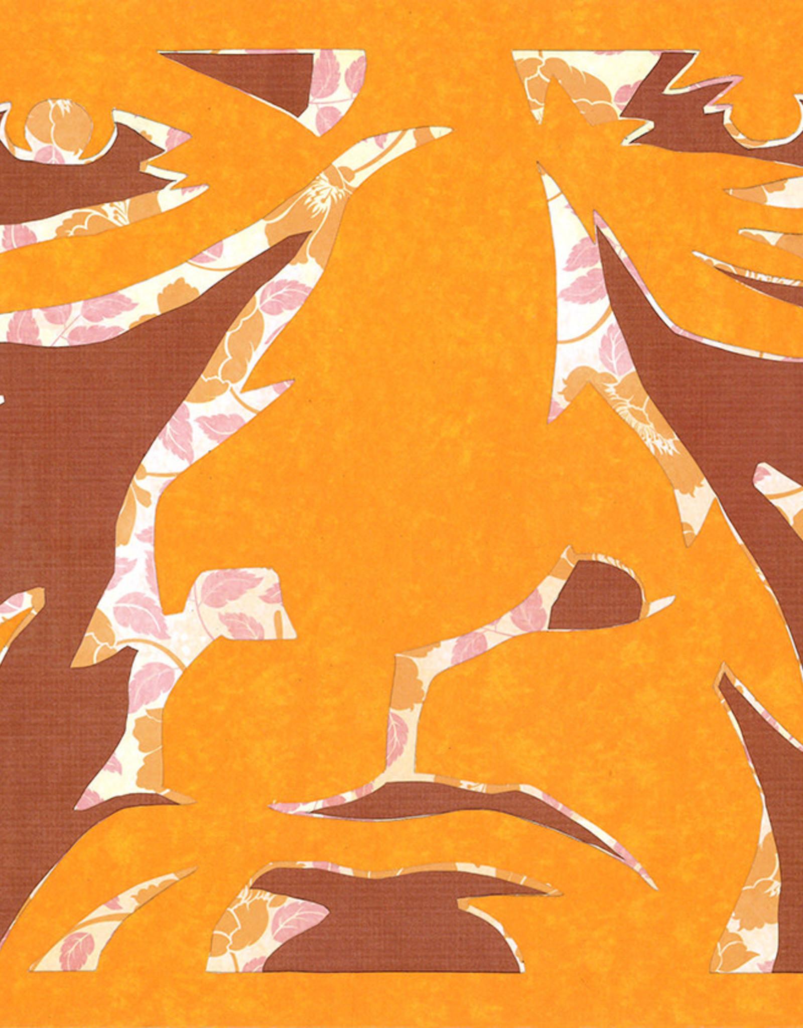 Gray Jones Face to Face -Cutout 9x12 #14