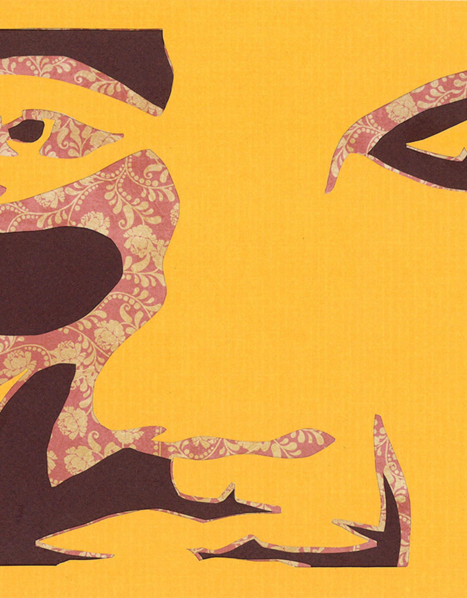 Gray Jones Face to Face -Cutout 9x12 #17