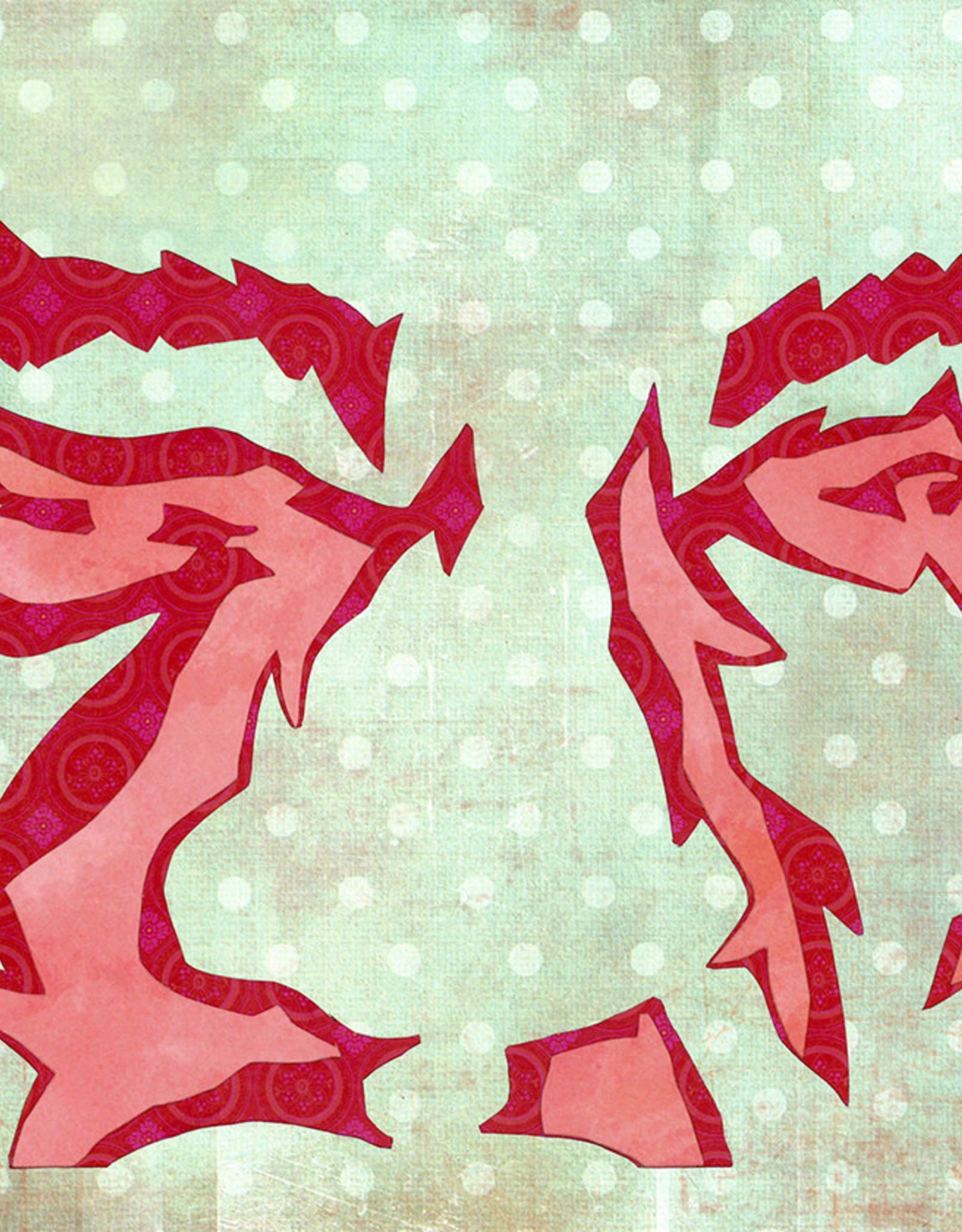 Gray Jones Face to Face -Cutout 9x12 #7