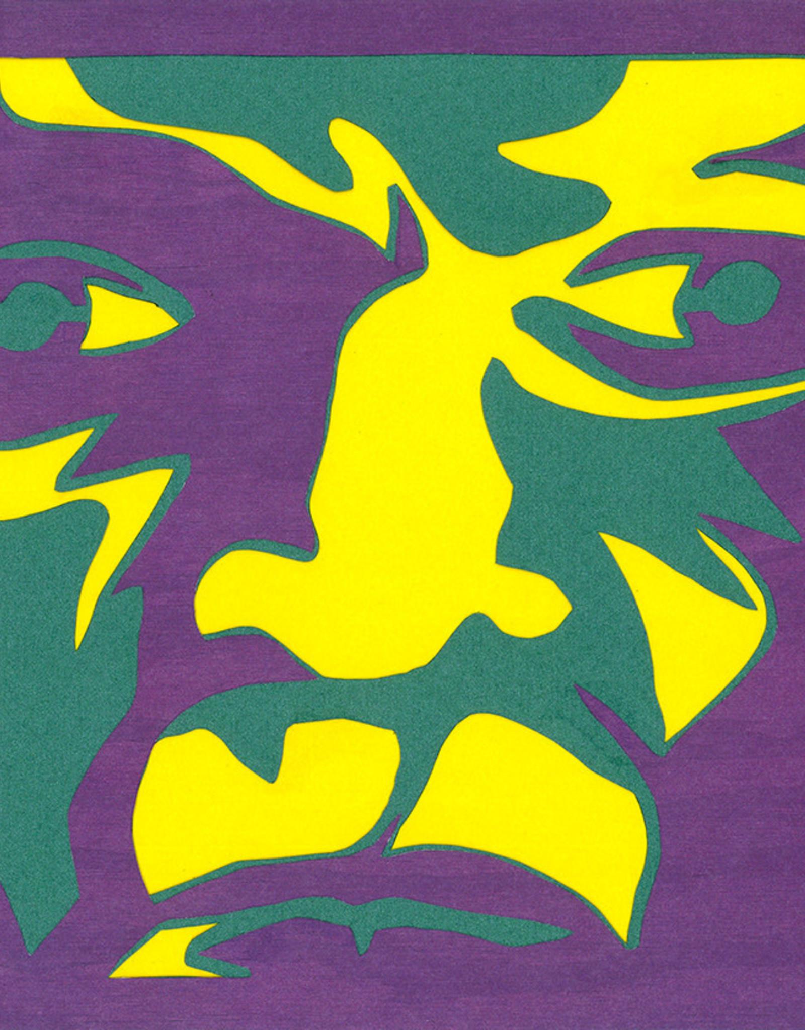 Gray Jones Face to Face -Cutout 9x12 #9