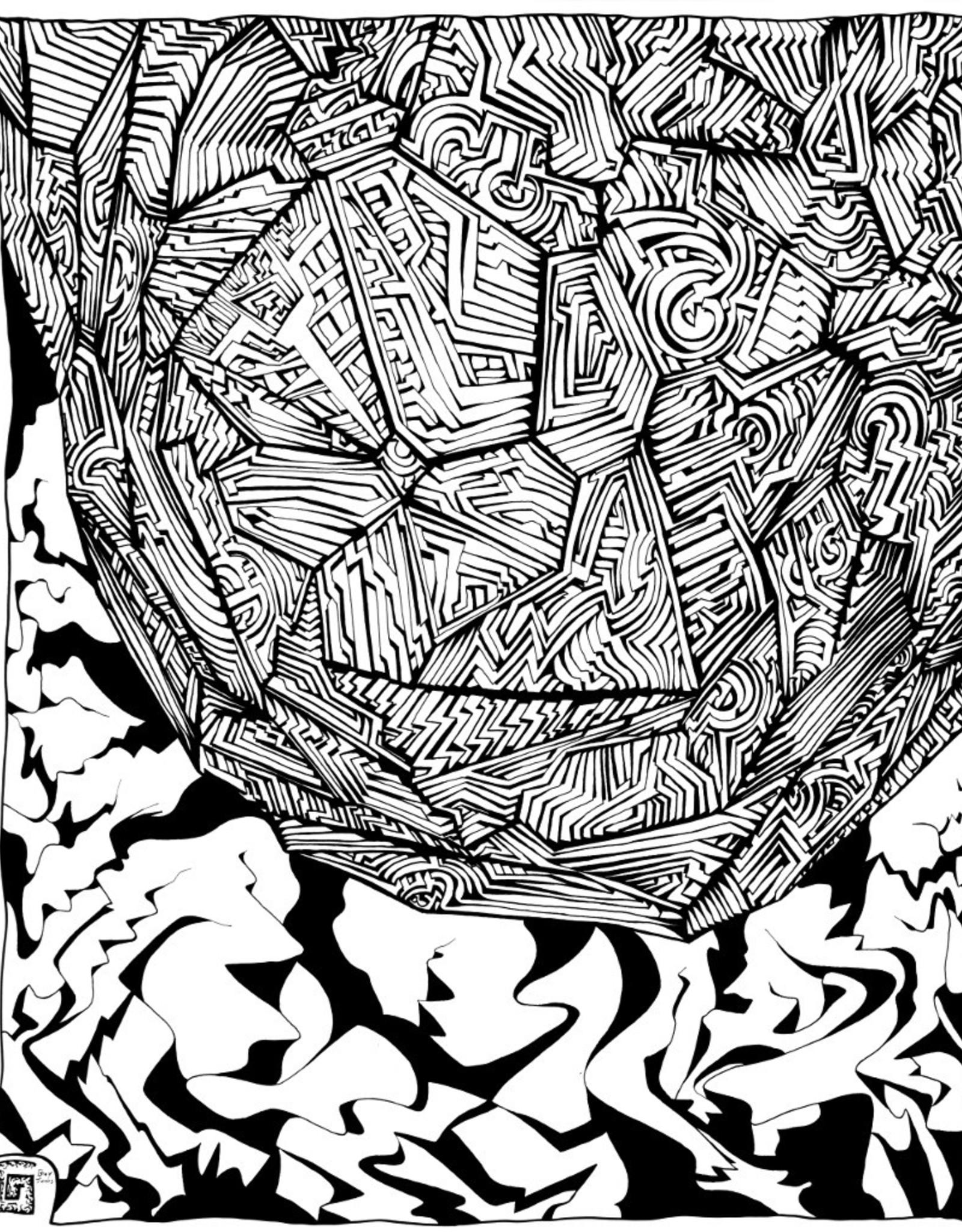 Gray Jones Print -8x10 B&W 14