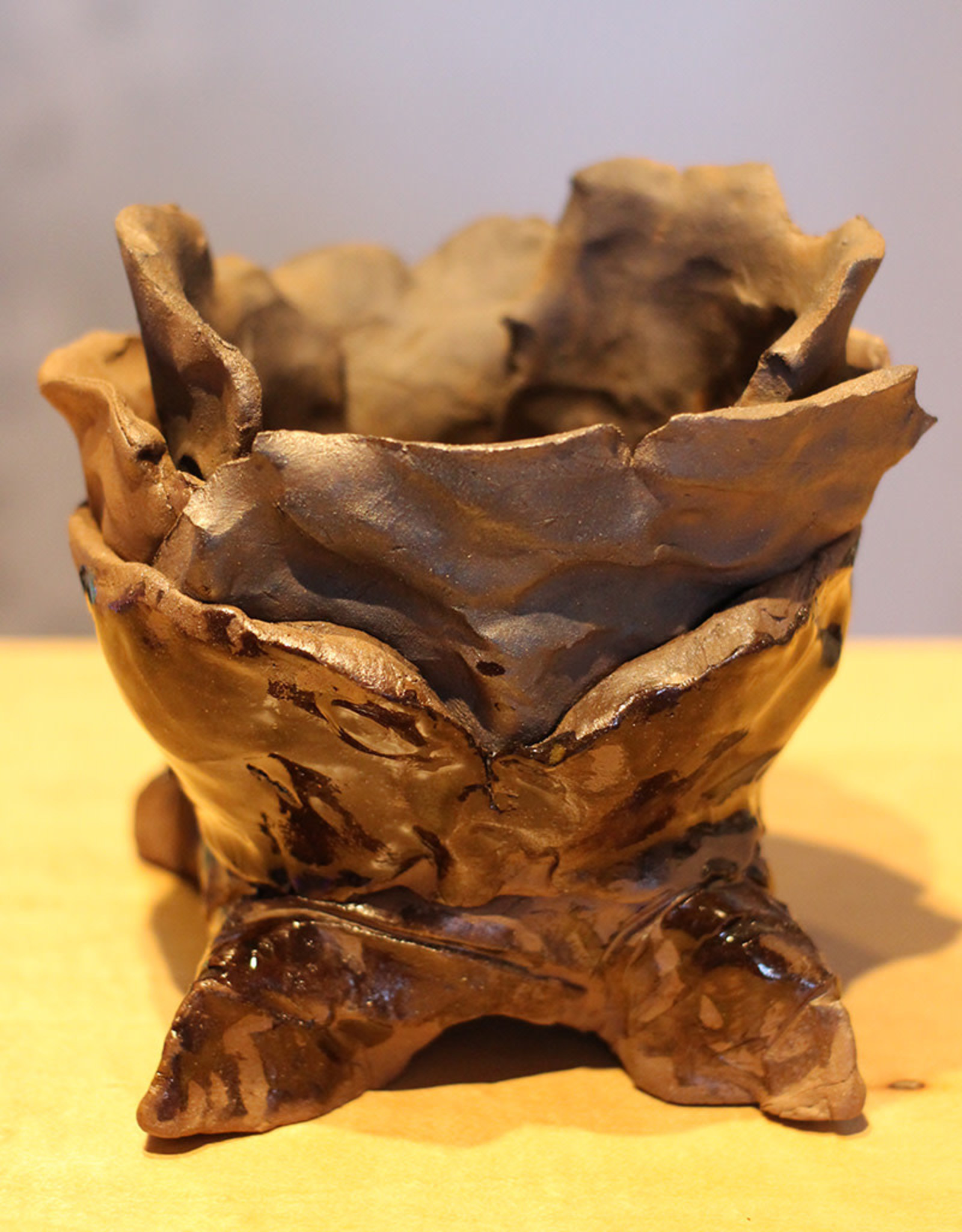 Pandora Patterson Rotted Flower Pot