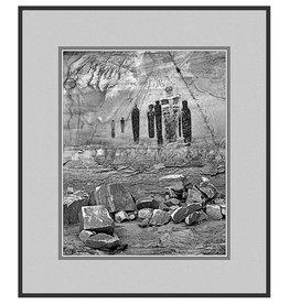 Erskine Wood Ghost King Panel, Horseshoe Canyon, Utah