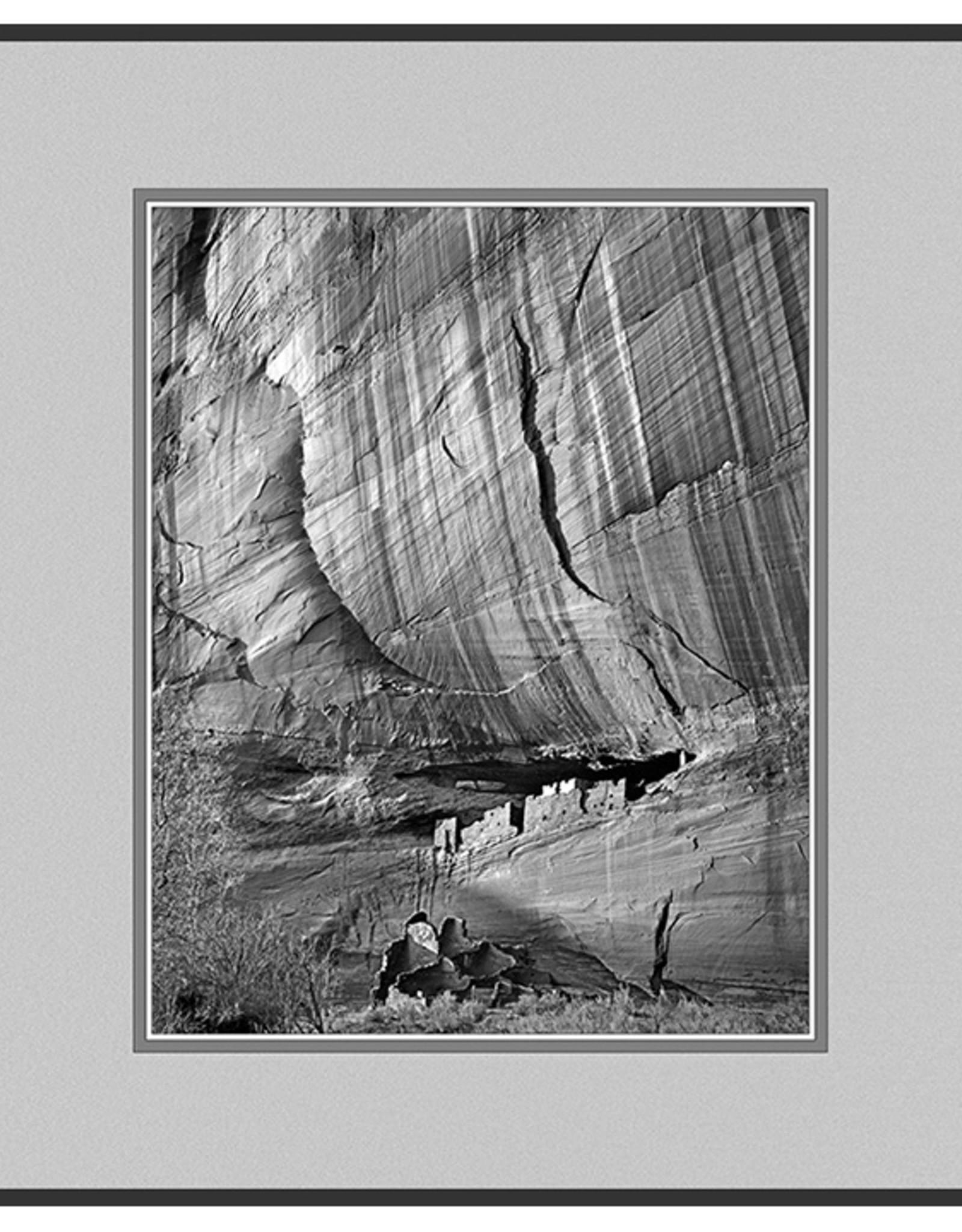 Erskine Wood White House Ruin, Arizona, [B&W]