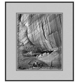 Erskine Wood White House Ruin, Arizona, [B&W]-EW