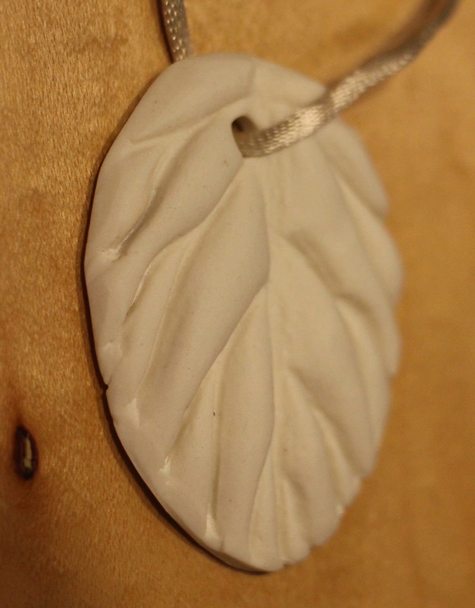 Pandora Patterson Porcelain Tea Leaf Pendant