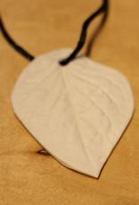 Pandora Patterson Porcelain Birch Leaf Pendant