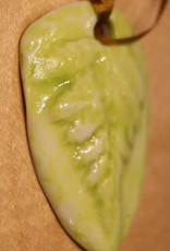 Pandora Patterson Chartreuse Leaf Pendant
