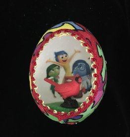 Ammi Brooks Inside Out Real Egg Ornament