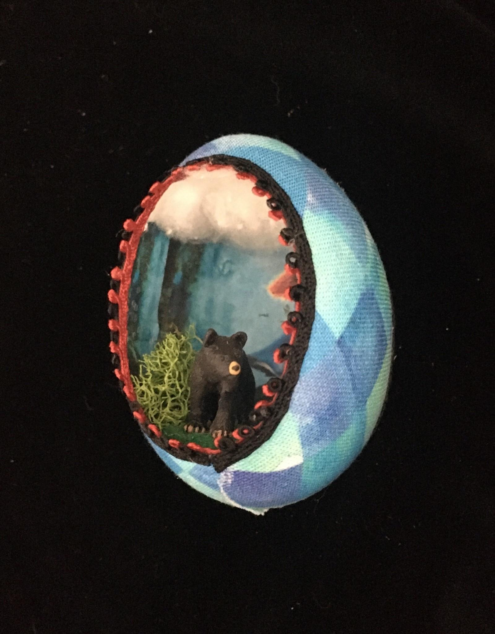 Ammi Brooks Brave Real Egg Ornament