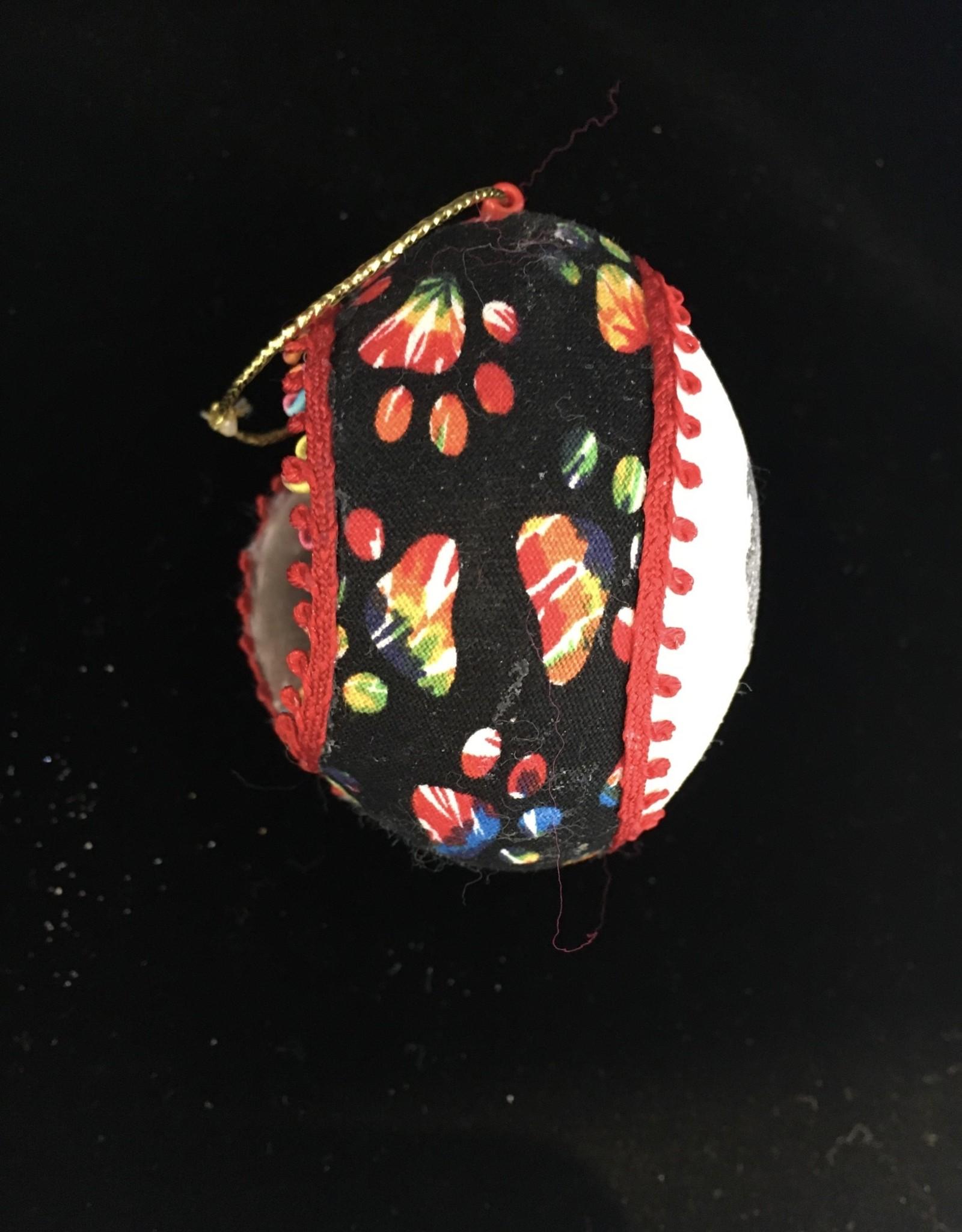 Ammi Brooks Grateful Dead Motorcycle Real Egg Ornament