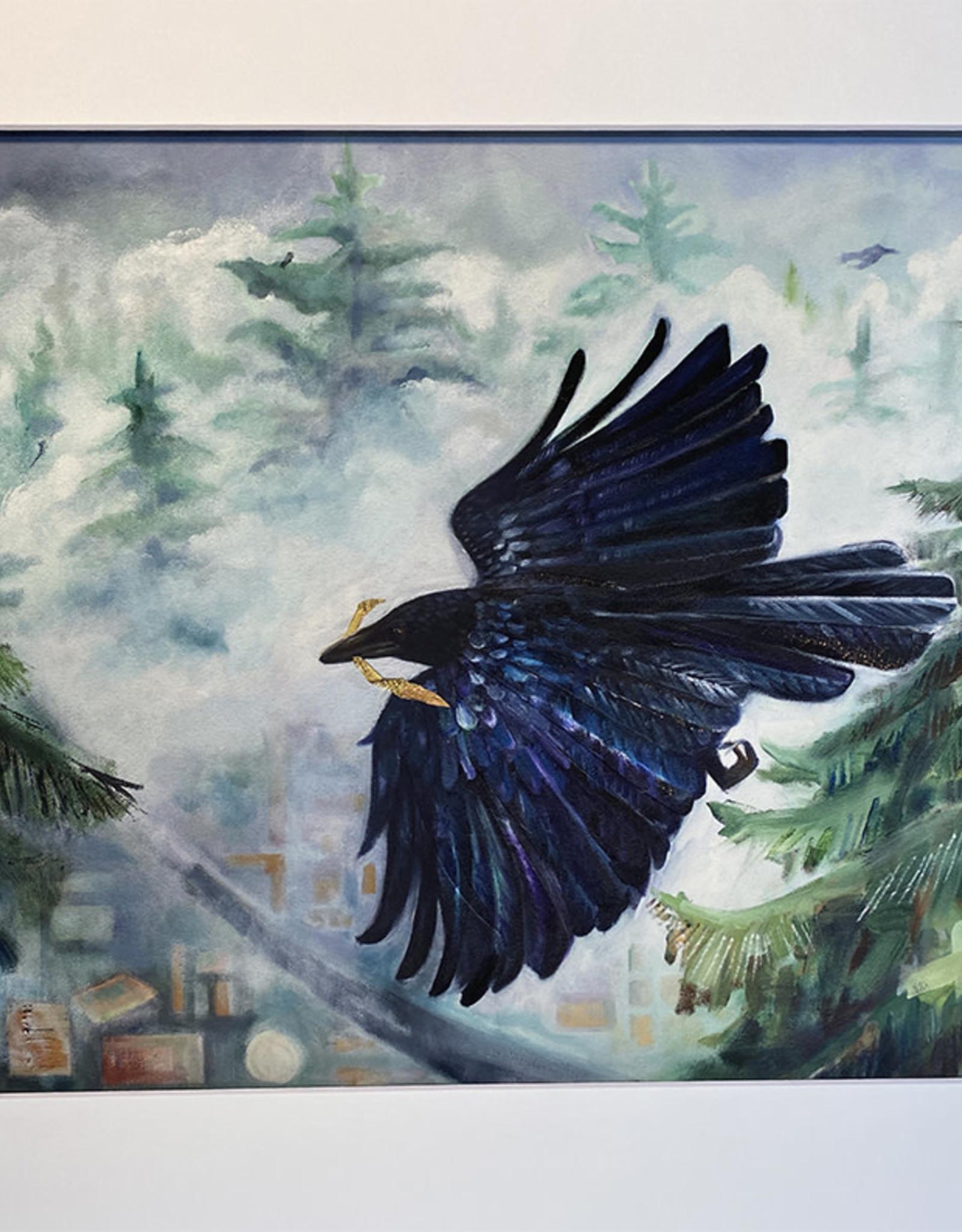 "Chrysos Designs Artworks, Fine Art Print, ""Above"", 16 x 20"