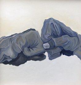 """Michelle Purvis 11x14 inch Print """"21st Century Handshake"""""""