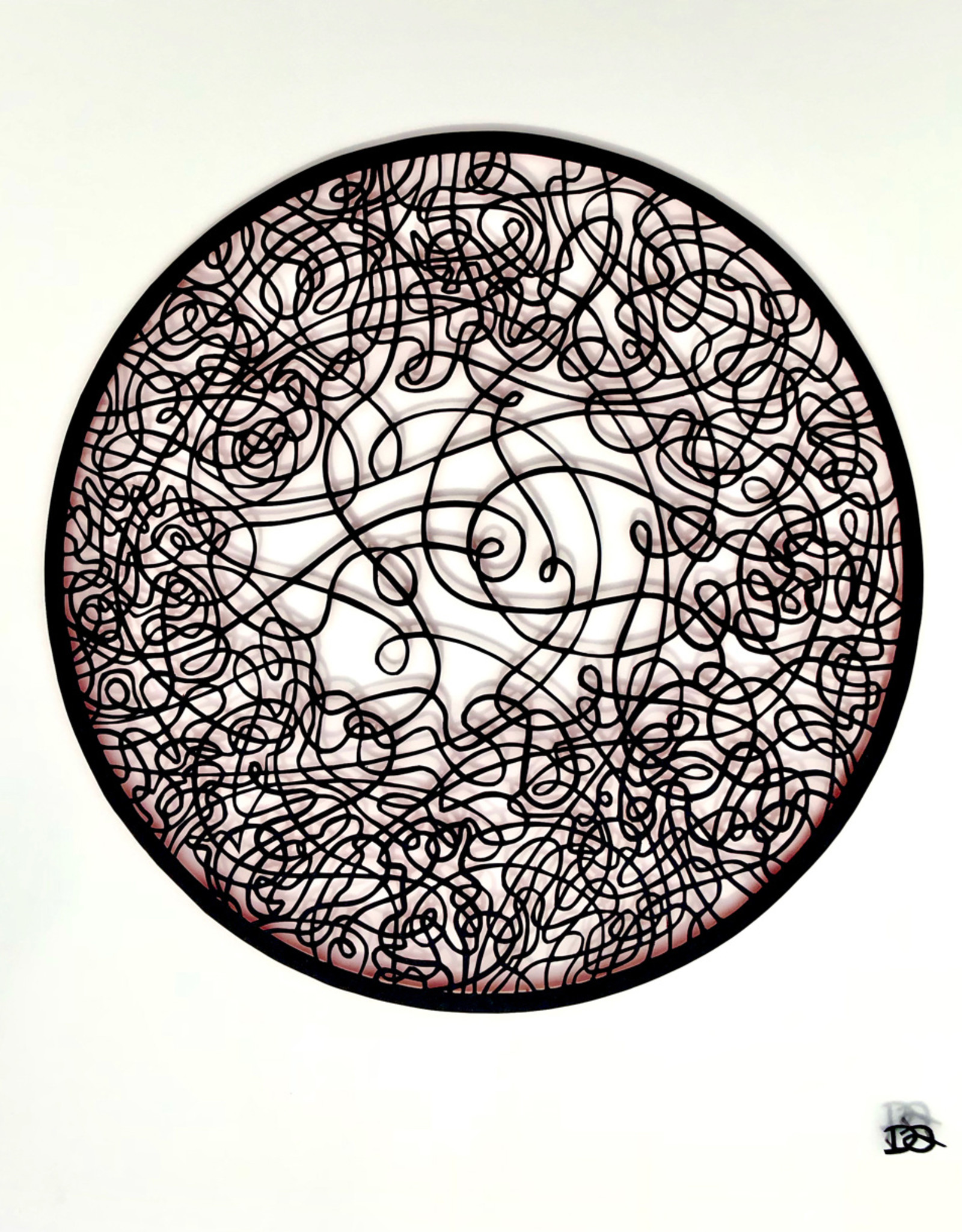 David Friedman Circle Dance Papercutting