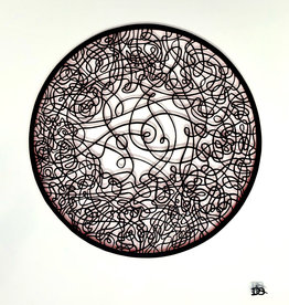 David Friedman Circle Dance Papercutting