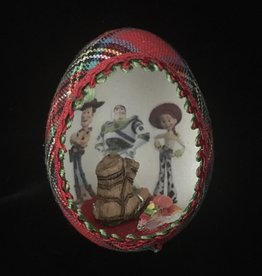 Ammi Brooks Toy Story Real Egg Ornament