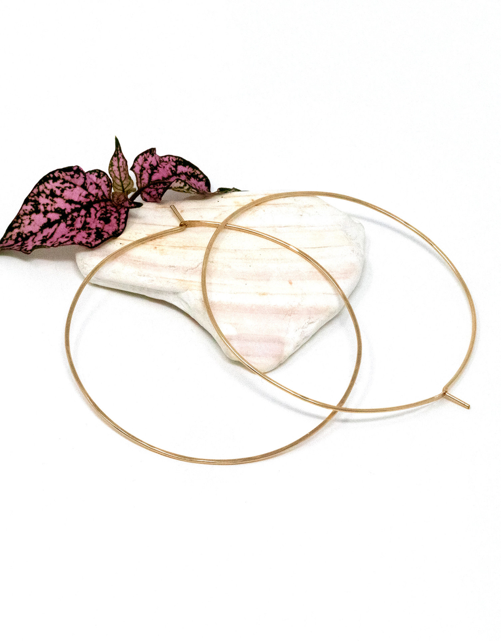 August Hess August Hess/14K GoldFill Infinity Hoops/Large