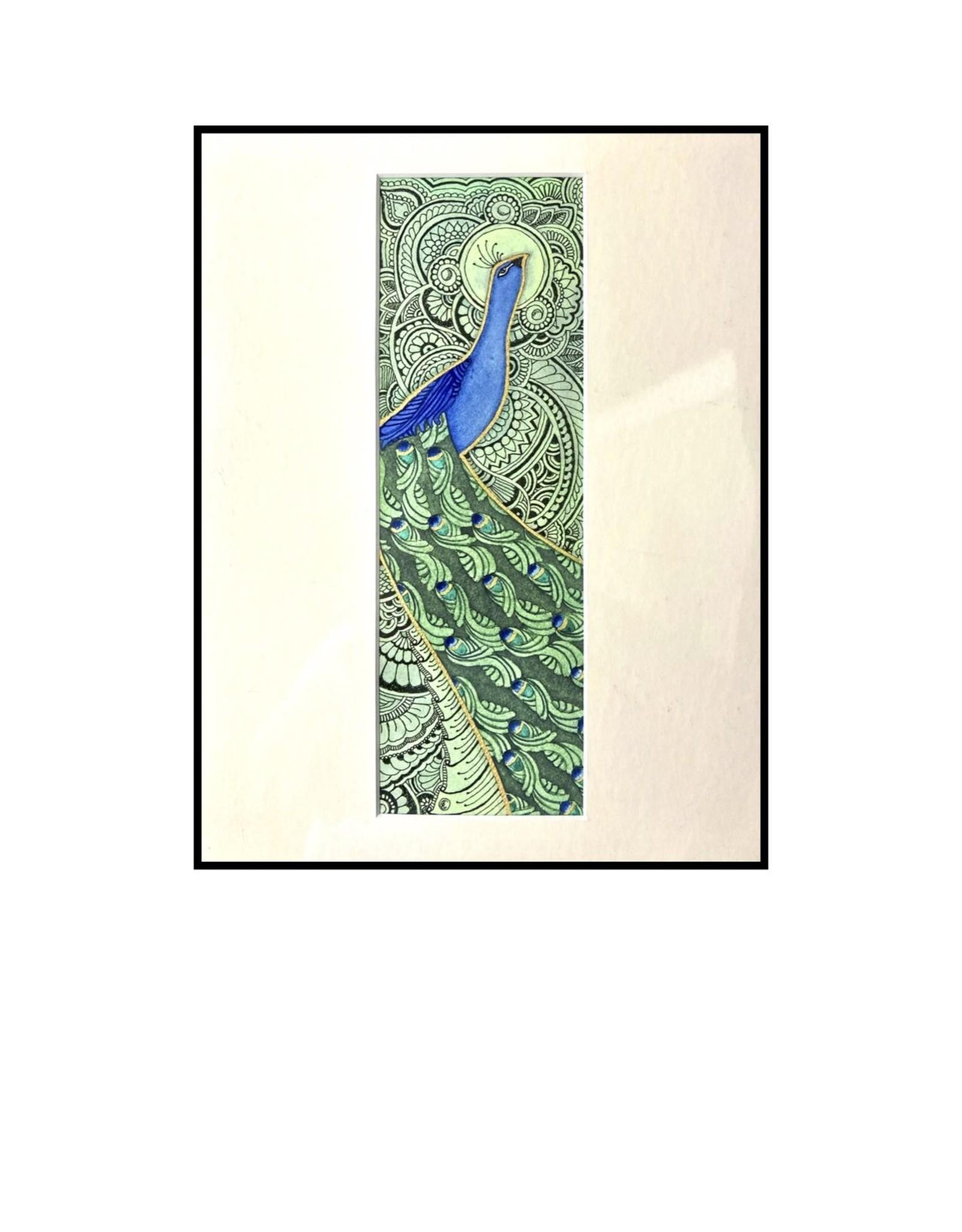 Kelly Casperson Le Roi du Jardin framed print