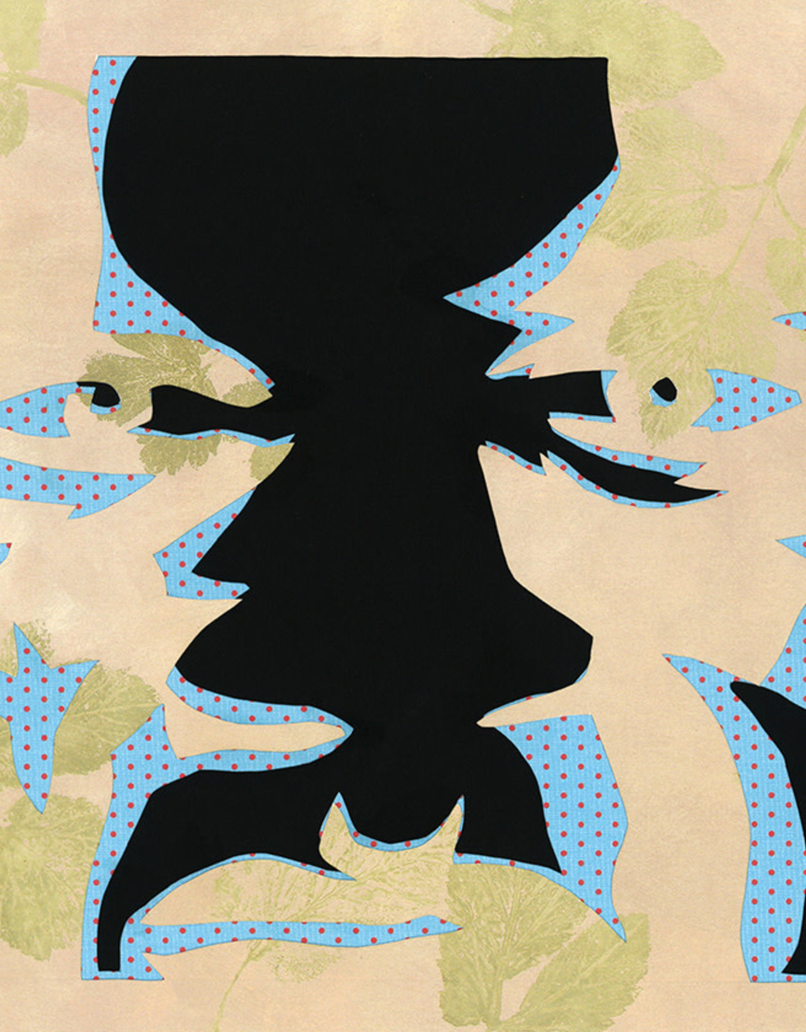 Gray Jones Face to Face -Cutout 9x12 #44
